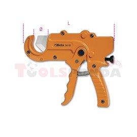 341 B - Ножица с тресчотка за пластмасови тръби 35мм
