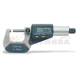 1658 DGT/25 - Микрометър 0-25мм за външни размери дигитален