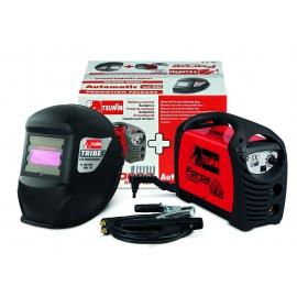 Електрожен инверторен FORCE 165 + ACX + фотосоларен заваръчен шлем | TELWIN