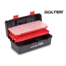 "Кутия за инструменти и рибарски принадлежности пластмасова 17"" | BOLTER"