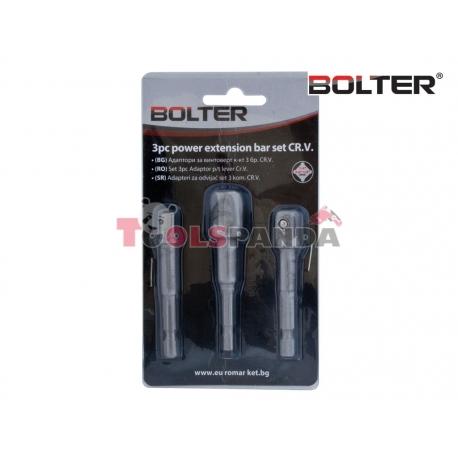Адаптори за винтоверт к-т 3 бр. CR-V. | BOLTER