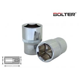 "Вложка шестостенна 1/2"" 10мм. CR-V. | BOLTER"