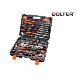 Ръчни инструменти в куфар CR-V. 78 части к-т | BOLTER