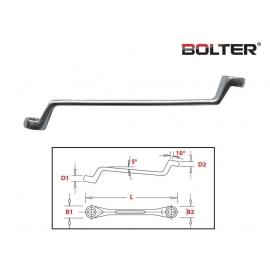 Ключ лула 10x11мм. CR-V. | BOLTER