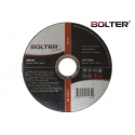 Диск за рязане на метал ø115х1.0х22.23мм. А60Р | BOLTER