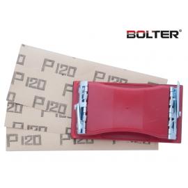 Блокче за шкурка с щипки 165х85мм. | BOLTER
