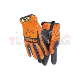 9574 O-L - Работни ръкавици, оранжеви