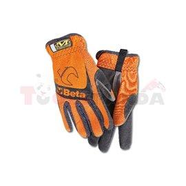 9574 O-M - Работни ръкавици, оранжеви