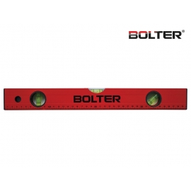 Нивелир алуминиев с измервателна линия 1000мм. | BOLTER