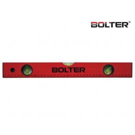 Нивелир алуминиев с измервателна линия 400мм. | BOLTER