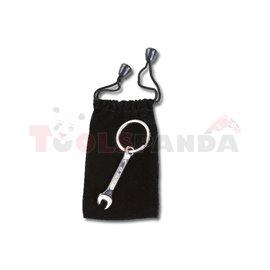 9595 T - Ключодържател, метален, хромиран