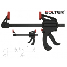Стяга дърводелска автоматична 150мм.   BOLTER