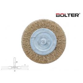Четка телена за бормашина дискова 75мм. | BOLTER