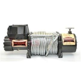 DRAGON лебедка 24V Електрическа лебедка Камион дърпа един ред: £ 18 000 / 8172 килограма Двигател: 7.8 к.с. контрол: дистанционн