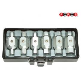 Комплект за картери 6 части | FORCE Tools