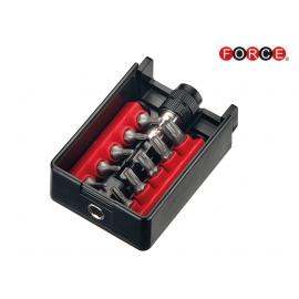Накрайници BIT-BOX - TORX с магнитен държач к-т 11 части | FORCE Tools