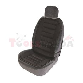 Nut seat SERIES, front, colour black, polyester, mounting with hooks
