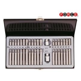 Шестограми дванадесетограм TORX 40ч. к-т | FORCE Tools