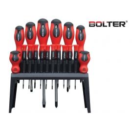Отвертки със стойка 18 бр. к-т | BOLTER