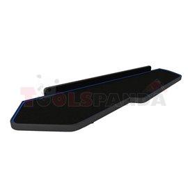 Cabin shelf (long, long, colour: blue, series: CLASSIC) VOLVO FH 16 II 03.14-