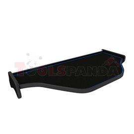 Cabin shelf ((PL) środkowa, middle, colour: blue, series: CLASSIC) DAF XF 105 10.05-
