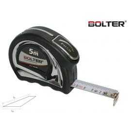 Ролетка металик с автоматичен стоп Coмfort 5м. x 19мм. | BOLTER