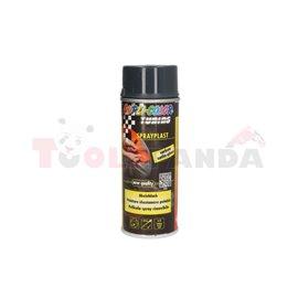 Paint anthracite (0,4 l,) gloss, foil spray - SPRAYPLAST, application: (PL) aerozol