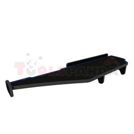 Cabin shelf (long, wide cabin 250 cm, long, colour: blue, series: CLASSIC) MERCEDES ACTROS MP4 / MP5 07.11-