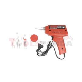 Soldering tool, housing: plastic, colour: red 230V (transformer)