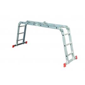 Стълба алуминиева сгъваема мултифункционална (4x3)   STS
