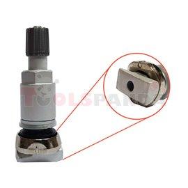 TPMS sensor valve, aluminiowy, Clamp-in, SCHRADER, GEN Gamma/Delta, length: 49mm,