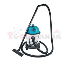 Odkurzacz przemysłowy 20l sucho mokro, 1200W, gniazdo narzędziowe 1800W, filtr HEPA