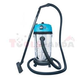 Odkurzacz przemysłowy 30l sucho mokro z otrząsaczem mechanicznym, 1400W, gniazdo narzędziowe 1800W, filtr HEPA