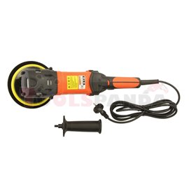 Polisher electrical, rated power: 1200W, working disc diameter: 150mm