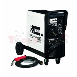 inverter semi-automatic welder mig/mag, maximum welding power: 180A, power: 4,8kW, power supply voltage: 230V, (pl) półautomat s