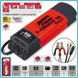 Зарядно устройство T-Charge 20 Boost 12/24V | TELWIN