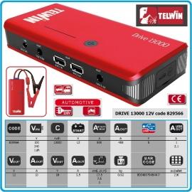 Зарядно устройство стартерно мултифункционално DRIVE 13000 | TELWIN