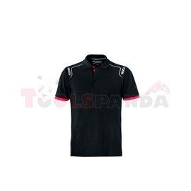 Shirts / T-shirts / Polo (PL) PORTLAND size: S, colour: black SPARCO