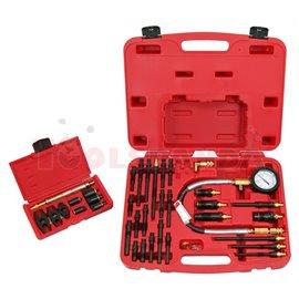 Комплект за измерване на компресията в дизелови двигатели, адаптери за инжектори с размери: M20, M22, M24