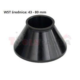 UNITROL Центриращ конус размери: 43-80 мм