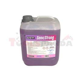 SONIC STRONG Strong Concentrate 5l, течност за ултразвукови почистващи препарати, подходяща и за шайби и шайби под налягане, но
