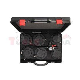 SEALEY Tester szczelności systemu turbo/intercooler (samochody ciężarowe), TRUCK, średnice adapterów 105-130mm
