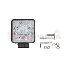 Working lamp, Osram Opto Semiconductors LED, number of diodes: 9, power max: 27W, voltage: 12/24/30V, Osram LED Inside, waterpro