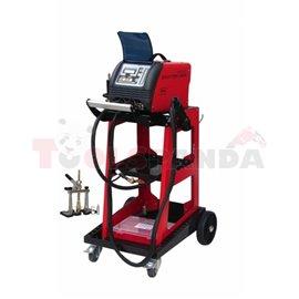 TECNOSPOTTER 5800 DIGITAL z wózkiem urządzenie do wyciągania, zgrzewania jednostronnego, łatania i rozgrzewania elektrodą węglow