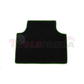 Floor mat F-CORE SCANIA, quantity per set 1 szt. (material - velours, colour - green)