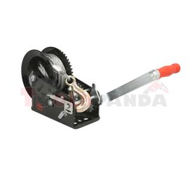 Portable winch towing 1588kg/3500lb rope type: line