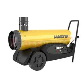 Дизелов отоплител 20 kW топл. и 0,3 kW ел. мощност с индиректно изгаряне, димоотвод за отвеждане на отработените газове, дебит 1