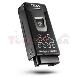 TEXA NAVIGATOR NANO S версия 3 - интерфейс за диагностика за PC/ лаптоп със софтуер IDC5 PLUS CAR