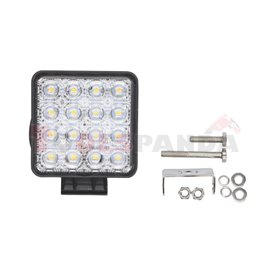 Working lamp, Osram Opto Semiconductors LED, number of diodes: 16, power max: 48W, voltage: 12/24/30V, Osram LED Inside, waterpr
