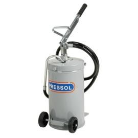 Помпа за масло, ръчна с 16л контейнер с 2 бр. колела | PRESSOL